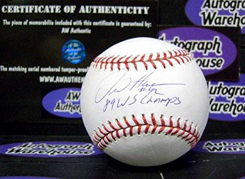 Henderson Autographs (Dave Henderson autographed Baseball inscribed 1989 WS Champs)