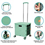 Foldable Utility Cart Folding Portable Rolling