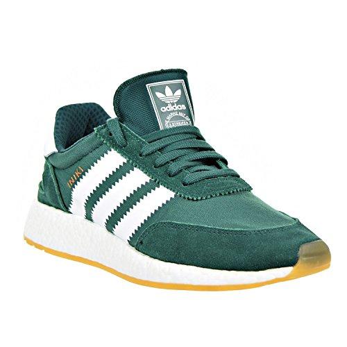 Iniki Runner White a Green Sneaker Basso Collegiate Collo adidas Uomo FZqwRZ