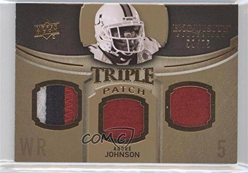 Andre Johnson #59/75 (Football Card) 2010 Upper Deck Exquisite Collection - [???] #ETP-AJ