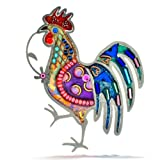 The Artazia Collection Seeka Brilliant Rooster Pin P0826