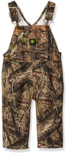 John Deere Baby Boys Printed Overall, Mossy Oak Breakup/Country, 12 ()