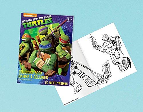 ninja coloring book party favors - 9