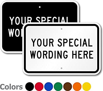 Amazon custom sign template add your special wording heavy custom sign template add your special wording heavy duty aluminum sign 63 maxwellsz