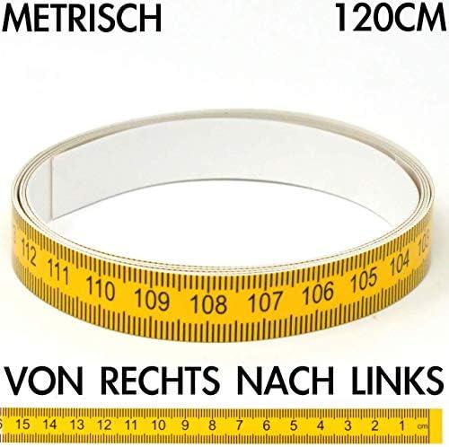 Klebema/ßband von rechts nach links 20 m