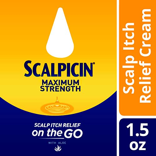 Scalpicin Max Strength Scalp Itch Treatment - Helps Relieve Scalp Itch from Dandruff, Psoriasis, Seborrheic Dermatitis, and Eczema. Formulated with Salicylic Acid 1.5 Ounce (Pack of 5)