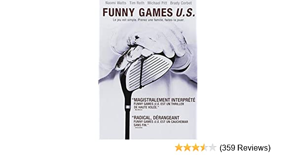 Amazon.com: Funny Games U.S.: Naomi Watts, Tim Roth, Michael ...
