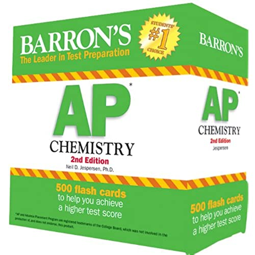 Periodic table flash cards amazon barrons ap chemistry flash cards 2nd edition urtaz Image collections