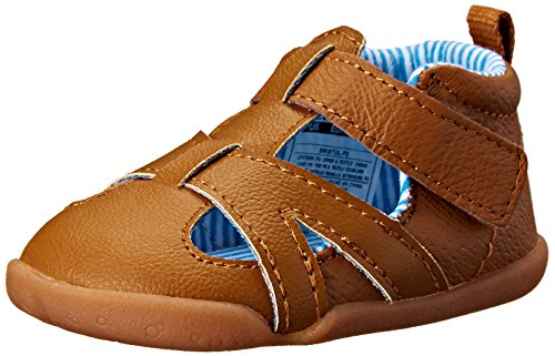 Carter's Every Step Bristol Stage 2 Stand Walking Sandal (Infant/Toddler), Brown, 3 M US Infant