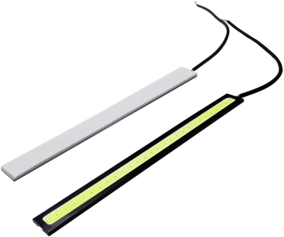 Guangcailun 2pcs 14cm Delgado COB de Marcha Diurna luz Diurna para Veh/ículo