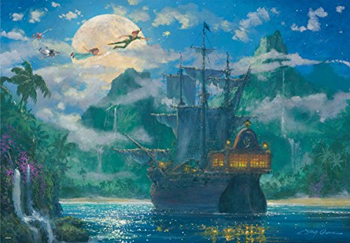 Disny Jigsaw Puzzle - Moon Rise Over Pirates Cove D-1000-416 (1000 pices)