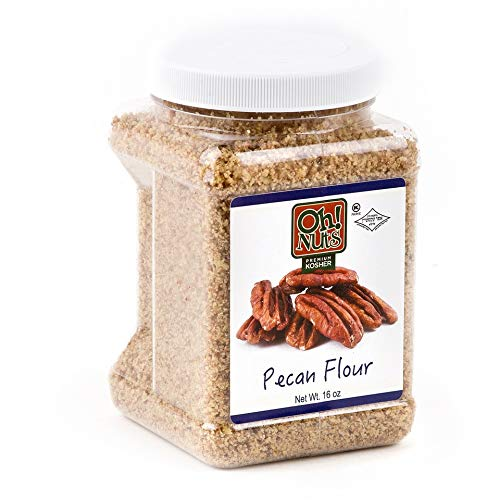 Flours & Meals 1 LB Jars - Oh! Nuts (Ground Pecan 2 Pack) by Oh! Nuts®
