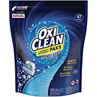 47-Count Oxiclean Laundry Detergent HD Packs, Sparkling Fresh Scent
