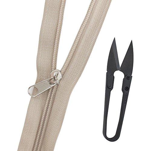 BambooMN Brand Yards Non Separating Zipper