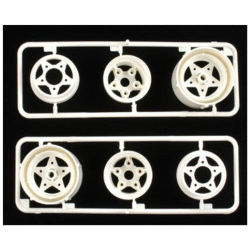 Tamiya 0555067 RC R Parts, Rear Wheels Set, for 58016