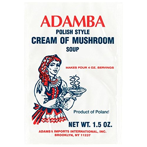 Adamba Polish Style Cream of Mushroom Soup Mix 3-Pack