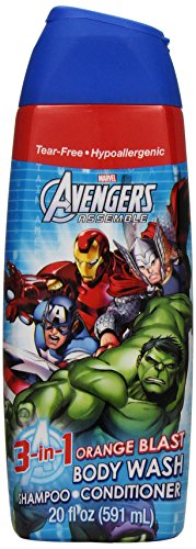 Disney Avengers 3 en 1 Body Wash, 20 once