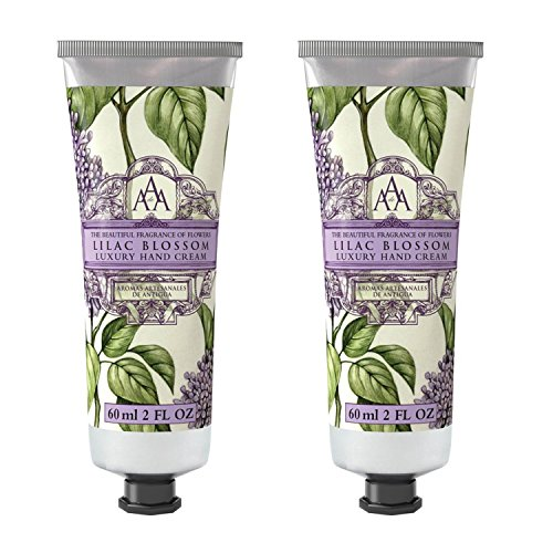 Somerset Toiletry Co. AAA Floral Hand Cream 2-Piece Set - Lilac Blossom by Aromas Artisanales de Antigua