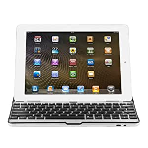 Chromo Inc® Bluetooth Aluminum Keyboard and Cover Stand for iPad 2 or 3 in Black