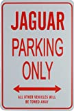 JAGUAR PARKING ONLY- Miniature Fun Parking Signs - Ideal Gift for the Motoring Enthusiast