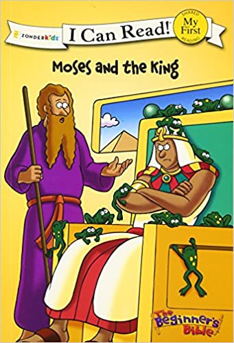 Amazon The Beginners Bible Moses And King I Can Read 0025986718008 Zondervan Books