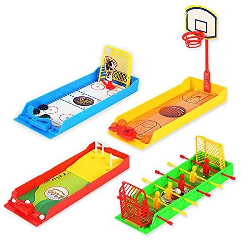 (Children's Educational Interactive Desktop Toys Finger Football Basketball Golf Hockey Table Games Toy Boy/Girl (4)