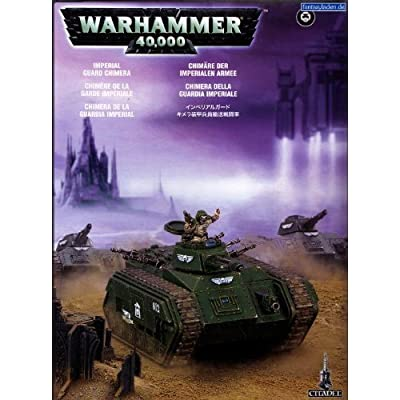 "Games Workshop 99120105046"" Astra Militarum Chimera Tabletop and Miniature: Toys & Games"