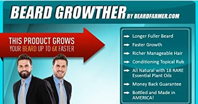 Beard Growther (Grow Your Beard Fast) 1.9oz