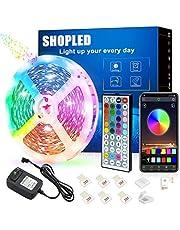 Taśma świetlna LED, SKLEPY RGB SMD 5050 Bluetooth Music Sync Taśma LED Taśma świetlna LED