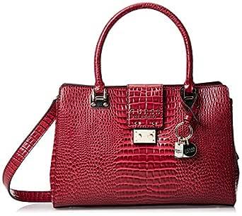 GUESS Women's Satchel Handbag, Merlot - CG743506