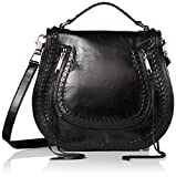 Rebecca Minkoff Vanity Saddle Bag, Black