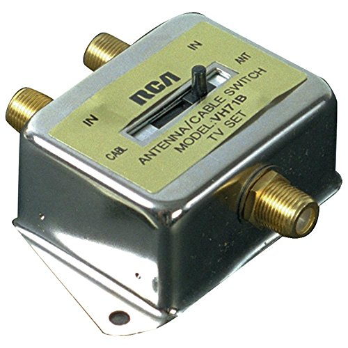 - RCA 2-Way Coaxial Cable Switch