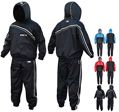 RDX MMA Sauna Suit Running Non Rip Sweat Track Weight Loss Slimmimg Fitness Gym Exercise Training – DiZiSports Store