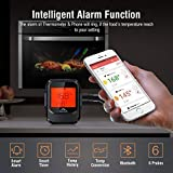 Meat Thermometer for Grilling with 6 Probe, BBQ Phone APP Remote Digital Wireless