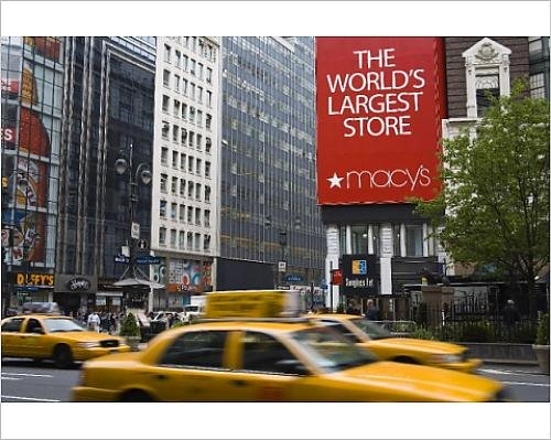Photographic Print of Macy s Store, Herald Square, Midtown Manhattan, New York City, New - Manhattan Herald Square
