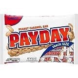 chocolate payday candy bar - Hershey's Payday Peanut Caramel Snacksize Candy Bar Jumbo Bag, 20.3 oz