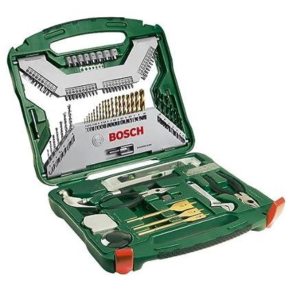 Advanced Bosch 103 piezas X Line de titanio brocas y juego de puntas ...