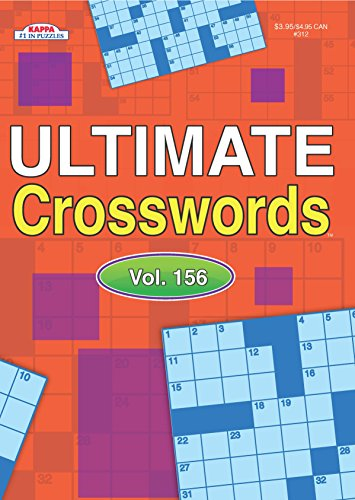 Ultimate Crosswords Puzzle Book-Volume 156
