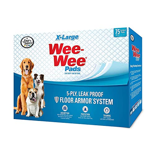 Four Paws Wee-Wee Pads, X-Large 150ct (2 x 75ct)