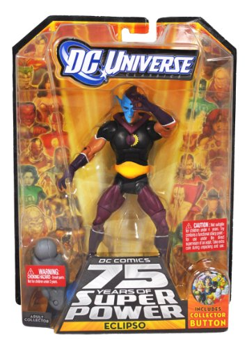 DC Comics 75 Years of Super Power Wave 12 Classics Series 6 Inch Tall Action ...