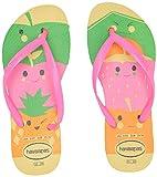 Havaianas Kid's Slim Fun Flip Flop Sandal, Pollen
