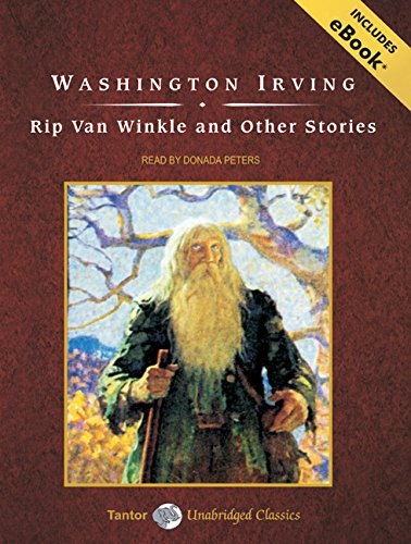 Rip Van Winkle and Other Stories, with eBook by Brand: Tantor