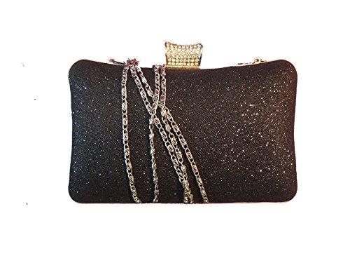 pochette bright handbag with cristals Woman's American clutches elegant 1st YwOg57qU