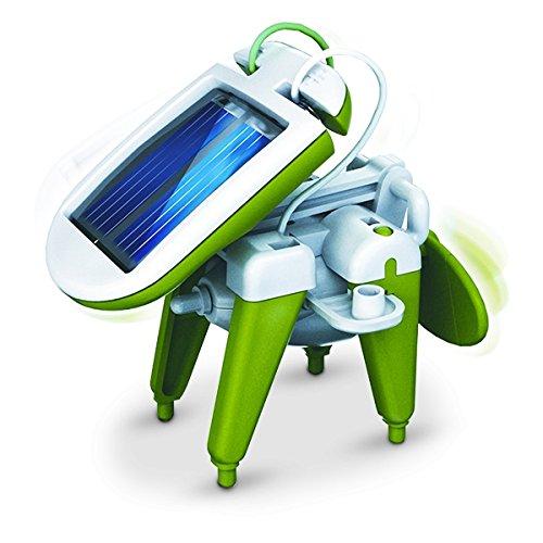 image Robot solaire 6 en 1 design et futuriste jeu insolite marrant drole