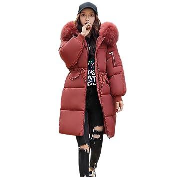 09c3566f624 2018 NEUF Femme Hiver Manteau long chaud épais Parka pour femme avec col en  fausse fourrure