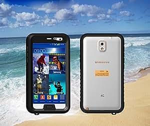 DragonPad iPhone 4/4S/5/5S Full-body Protective Case Waterproof Shockproof Dustproof Snowproof Case Cover(Black)