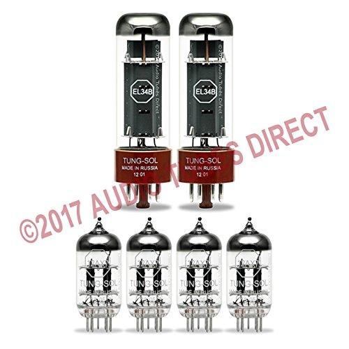 - Tung-Sol Tube Upgrade Kit For Marshall JCM 2000 DSL 50 DSL 40C Amps EL34B/12AX7