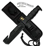 Army HARDCORE Tactical Knife Full Tang HEAVY DUTY ARMY Fighting Knife