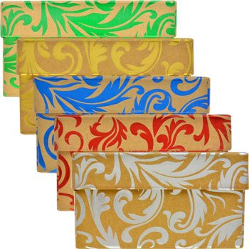 Amazon gift wrap foil embossed christmas