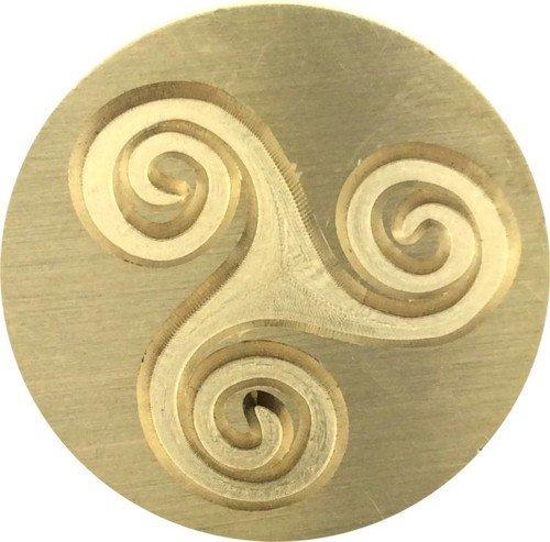 Large Triskele - Triskele - Triple Spiral - Triskelion 7/8